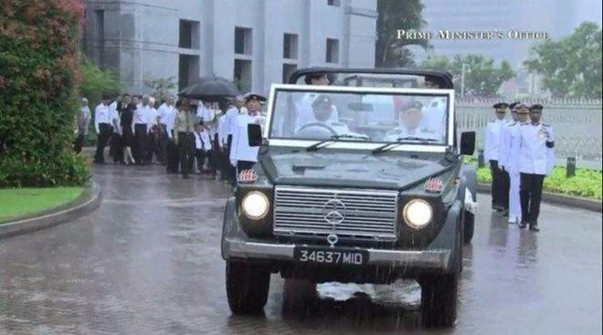 Singapore mưa trắng trời ngày đưa tiễn cố Thủ tướng Lý Quang Diệu - 8