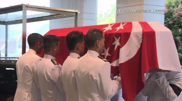 Singapore mưa trắng trời ngày đưa tiễn cố Thủ tướng Lý Quang Diệu - 9