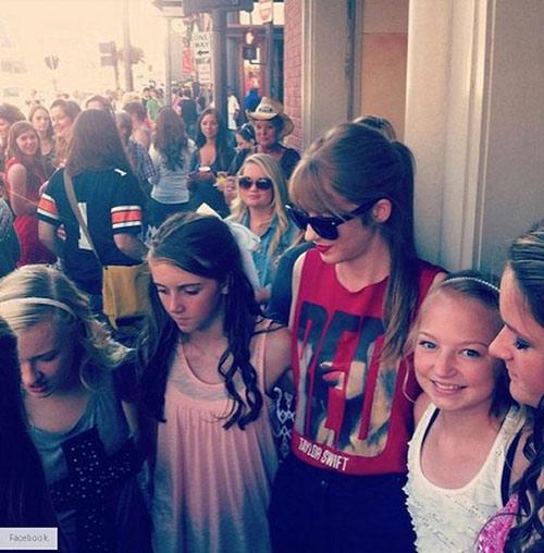 Thiếu nữ nổi tiếng vì giống hệt Taylor Swift - 8