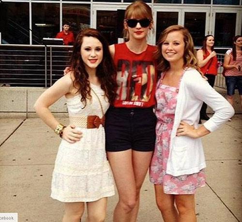 Thiếu nữ nổi tiếng vì giống hệt Taylor Swift - 4