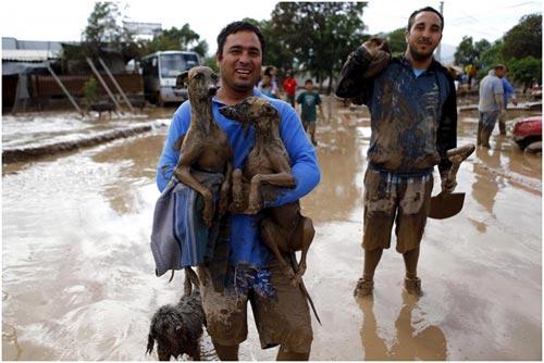 Chùm ảnh: Miền Bắc Chile hứng chịu lũ lụt lịch sử - 11