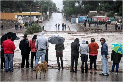 Chùm ảnh: Miền Bắc Chile hứng chịu lũ lụt lịch sử - 12
