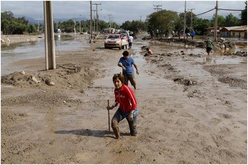 Chùm ảnh: Miền Bắc Chile hứng chịu lũ lụt lịch sử - 13