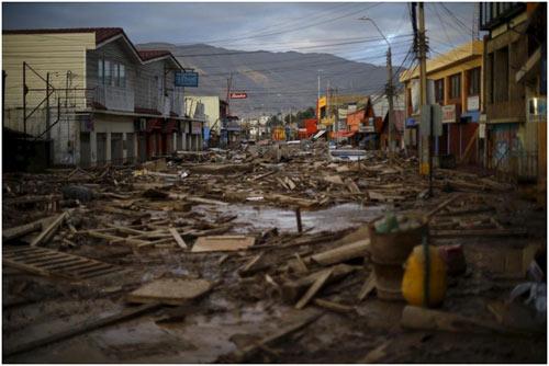 Chùm ảnh: Miền Bắc Chile hứng chịu lũ lụt lịch sử - 4