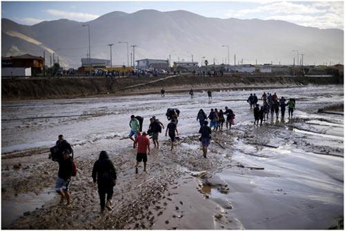 Chùm ảnh: Miền Bắc Chile hứng chịu lũ lụt lịch sử - 5