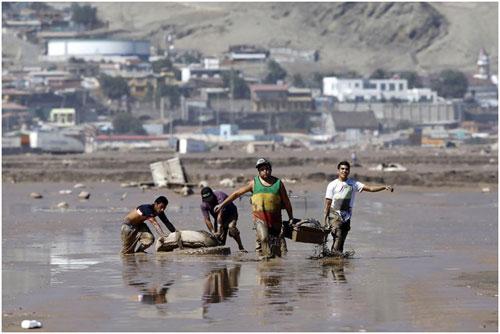 Chùm ảnh: Miền Bắc Chile hứng chịu lũ lụt lịch sử - 6