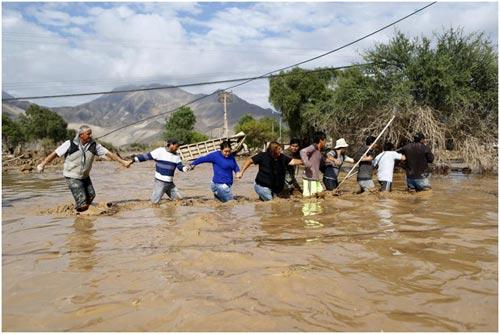 Chùm ảnh: Miền Bắc Chile hứng chịu lũ lụt lịch sử - 7