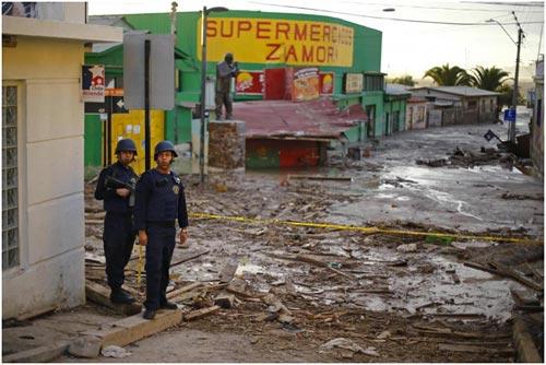 Chùm ảnh: Miền Bắc Chile hứng chịu lũ lụt lịch sử - 9
