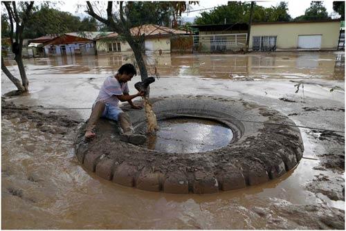 Chùm ảnh: Miền Bắc Chile hứng chịu lũ lụt lịch sử - 10
