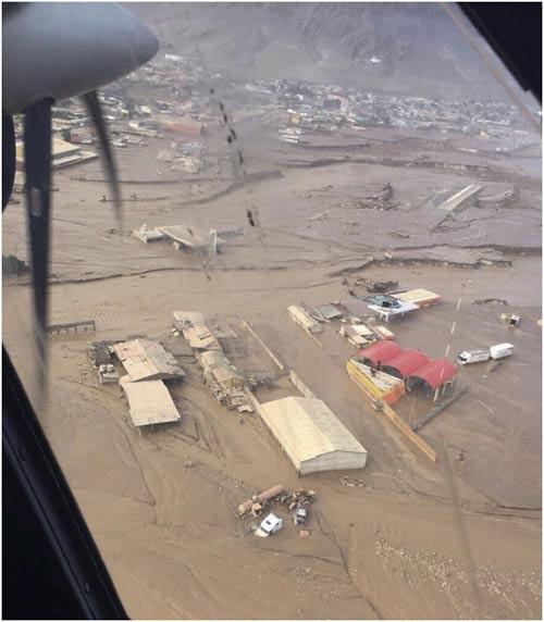 Chùm ảnh: Miền Bắc Chile hứng chịu lũ lụt lịch sử - 14