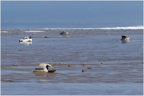 Chùm ảnh: Miền Bắc Chile hứng chịu lũ lụt lịch sử - 1