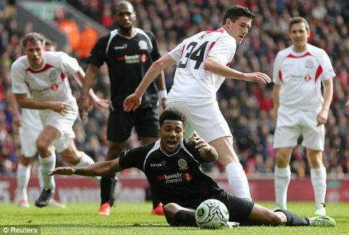 Dàn sao tụ hội, đá trận Liverpool tri ân Gerrard - 6