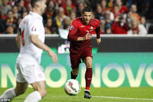 """Phục vụ ĐTQG, Ronaldo cũng gặp """"vấn đề"""" - 1"""