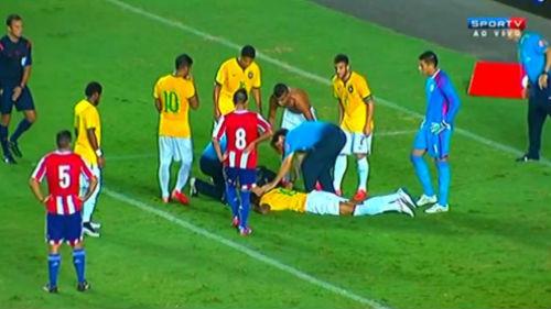 Sao trẻ Brazil bất tỉnh sau khi ghi bàn - 1