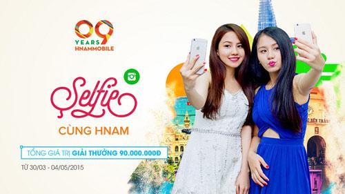 """""""Selfie cùng Hnam"""" nhận giải thưởng 90 triệu đồng nhân dịp sinh nhật - 3"""