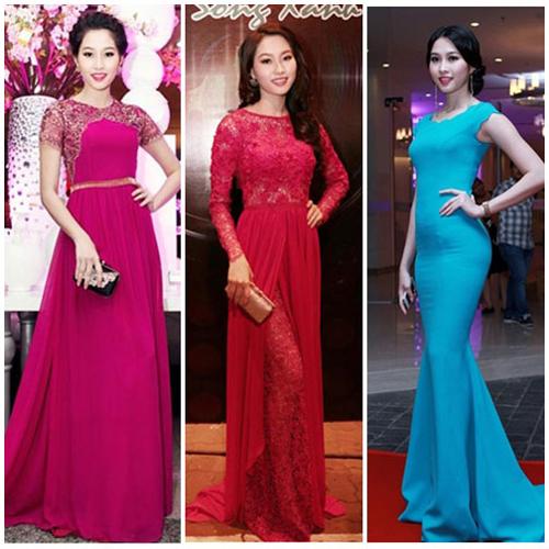 """Thời trang """"10 năm không đổi"""" của 3 người đẹp Việt - 11"""