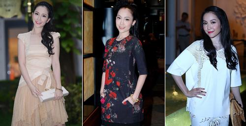 """Thời trang """"10 năm không đổi"""" của 3 người đẹp Việt - 14"""