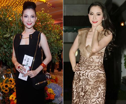 """Thời trang """"10 năm không đổi"""" của 3 người đẹp Việt - 17"""