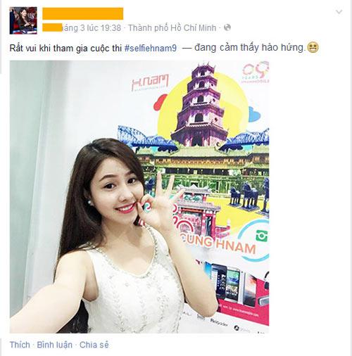 """""""Selfie cùng Hnam"""" nhận giải thưởng 90 triệu đồng nhân dịp sinh nhật - 1"""