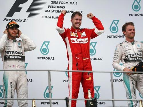 "BXH Malaysian GP: Vettel ""nâng bước"" Ferrari - 1"