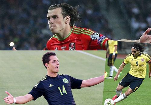 Bale, Falcao, Ronaldo: Những bức tranh trái ngược - 1