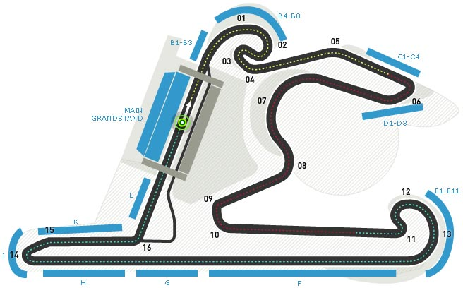 Lịch thi đấu F1: Chinese GP 2015 - 1