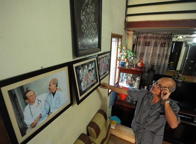 Nghệ sỹ Hán Văn Tình tập kịch ở nhà sau điều trị ung thư - 2