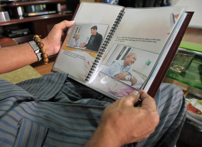 Nghệ sỹ Hán Văn Tình tập kịch ở nhà sau điều trị ung thư - 4