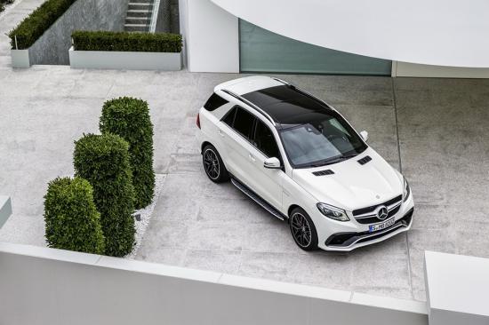 Video đầu tiên về Mercedes-Benz GLE 2016 - 4