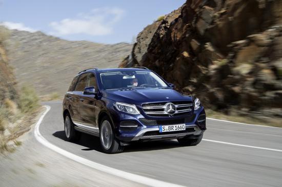 Video đầu tiên về Mercedes-Benz GLE 2016 - 2