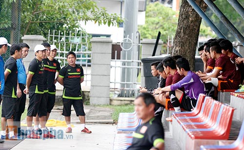 """Xem Tuấn Anh, Văn Toàn...tập """"bắn"""" chờ U23 Macau - 2"""
