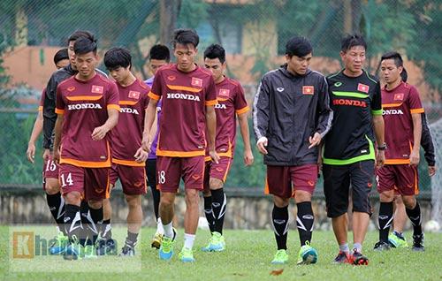 """Xem Tuấn Anh, Văn Toàn...tập """"bắn"""" chờ U23 Macau - 4"""