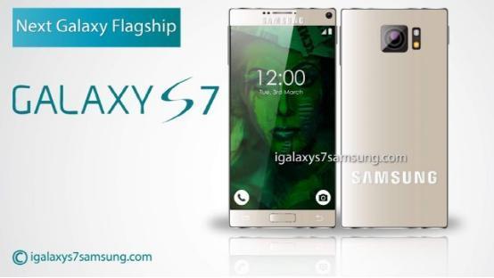 Rò rỉ mẫu Galaxy S7 gần như không có viền màn hình - 1