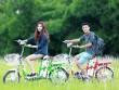 HKbike giảm giá sốc xe đạp điện chạy pin, rẻ hơn xe ắc quy