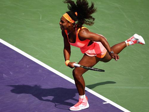 Serena – Kuznetsova: Tốc hành vào tứ kết (V4 Miami) - 1