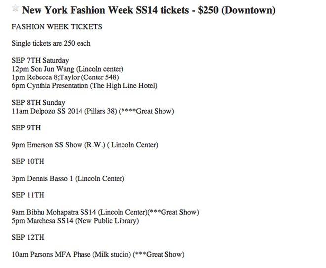 Bí mật gây sốc phía sau tấm vé mời fashion week - 4
