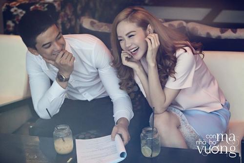 Bắt gặp Minh Hằng hẹn hò trai đẹp ở quán cafe - 2