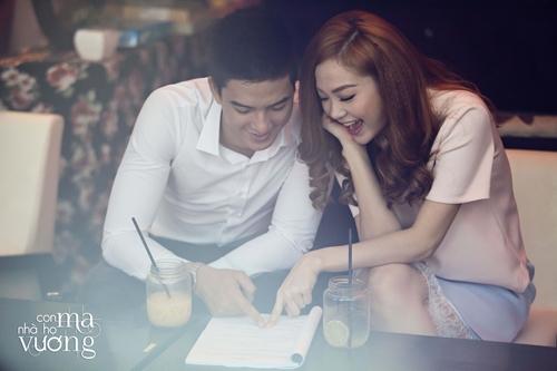 Bắt gặp Minh Hằng hẹn hò trai đẹp ở quán cafe - 1