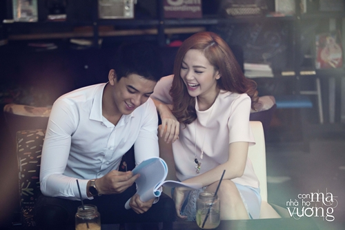 Bắt gặp Minh Hằng hẹn hò trai đẹp ở quán cafe - 4