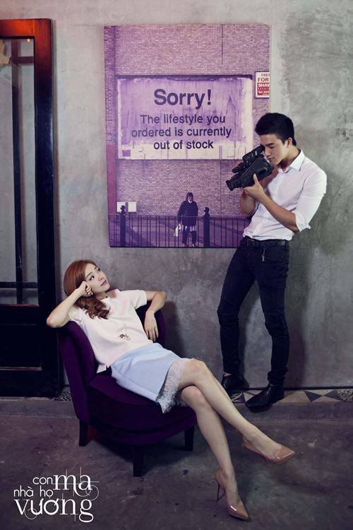 Bắt gặp Minh Hằng hẹn hò trai đẹp ở quán cafe - 7