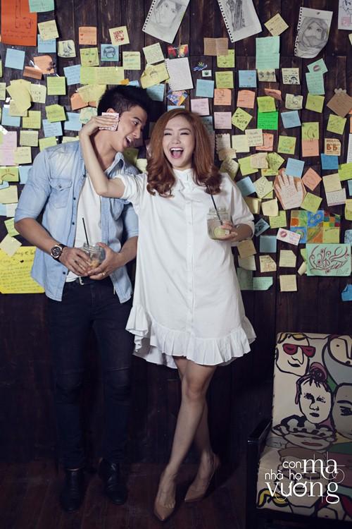 Bắt gặp Minh Hằng hẹn hò trai đẹp ở quán cafe - 9