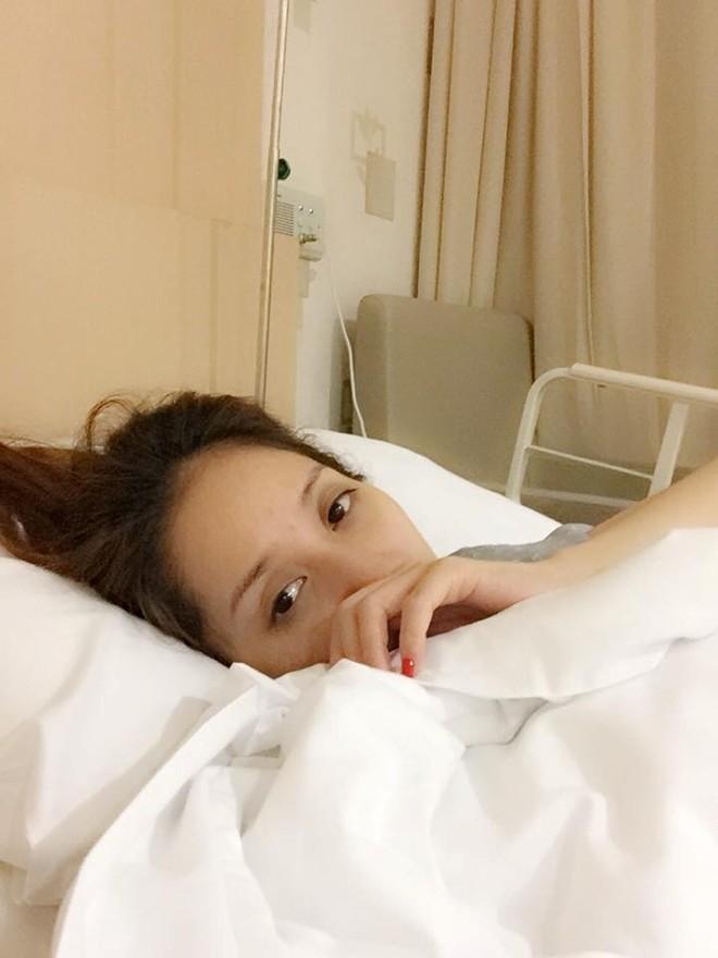 Khánh Thi nhập viện lúc nửa đêm vì động thai - 1