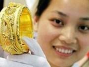 Vàng SJC 'một chữ' mất 40.000 đồng/lượng