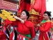 Thiếu nữ Hà Thành mướt mồ hôi quay kiệu Thánh