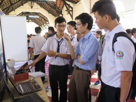 Độc đáo 18 đề tài khoa học của học sinh được giải nhất cấp thành phố - 1