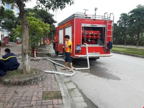 Cháy ở công trình Bệnh viện Bệnh Nhiệt đới Trung ương - 3