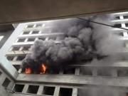 Tin tức trong ngày - Cháy ở công trình Bệnh viện Bệnh Nhiệt đới Trung ương