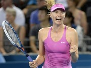 Thể thao - Tin thể thao HOT 1/1: Sharapova gặp may ở Brisbane