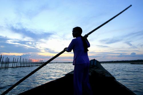 Ảnh: Cuộc sống bình dị trên phá Tam Giang - 10