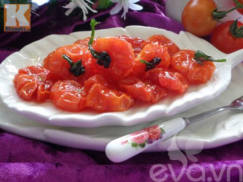 Cách làm mứt cà chua bi dẻo ngon, thơm ngọt - 9